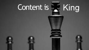 Content is King Image for Local SEO Blog Post