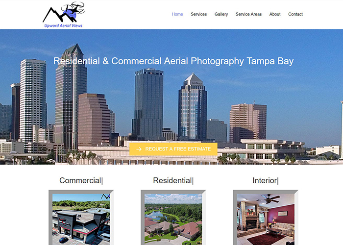 Drone Photography Tampa - Aerial Photography - Upward Aerial Views