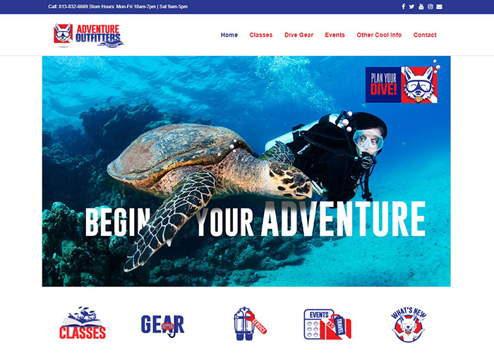 Scuba Dive Shop Tampa - Adventure Outfitters